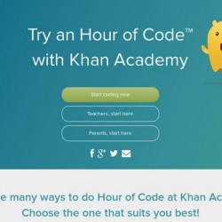 CaptureHour of code Kahan Academy