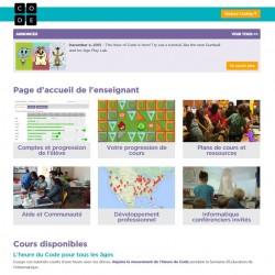 Code.org : Éducateurs | Ressources d'enseignement